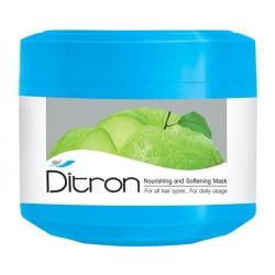 ماسک تغذیه کننده و نرم کننده مو دیترون (حاوی عصاره سیب) 400 میل