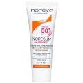 کرم ضد آفتاب SPF50 نورسان نوروا (رنگی)