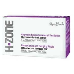 آمپول بازسازی کننده H.ZONE جهت موهای خشک و آسیب دیده رنه بلانش