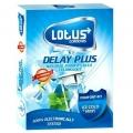 کاندوم تاخیری Delay Plus لوتوس (3 عددی)