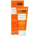 کرم ضد آفتاب فاقد چربی فوتوزوم SPF 50 بیرنگ فیس دوکس
