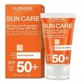 کرم ضد آفتاب SPF50 رنگی پوست چرب فلوس لک
