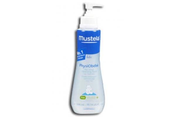 محلول فیزیو تمیز کننده صورت و بدن موستلا