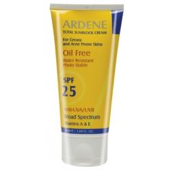 کرم ضد آفتاب فاقد چربی SPF25 آردن