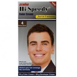 کیت رنگ مو مردانه Hi Speedy شماره 4