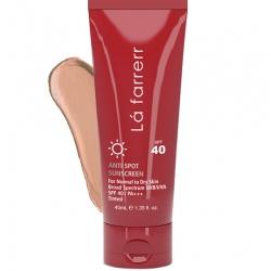 کرم ضد آفتاب ضد لک SPF40 پوست خشک لافارر (رنگ متوسط)