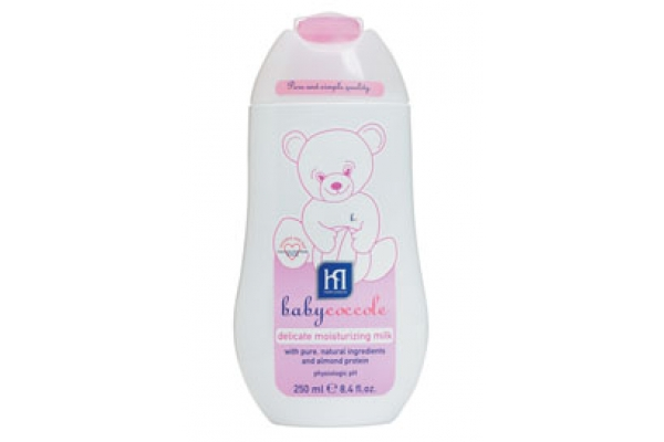 Детское молочко babycoccole (беби кокале) очищающее.