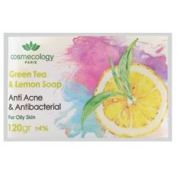 صابون چای سبز و لیمو کاسمکولوژی
