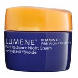 کرم متعادل کننده شب ویتامین C انرژی لومن