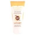 کرم ضد آفتاب فاقد جاذب شیمیایی SPF50 بژ طبیعی سان سیف